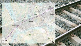 Hovedplanen for den nye toglinjen gjennom Sarpsborg er ferdig – nå vil politikerne kreve ny trasé