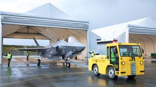 Tre nye F-35 på plass på Ørland – kun uker til de kan overta for F-16