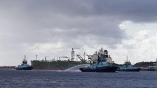 Røykutvikling fra oljetanker – 80 personer ble evakuert fra Stureterminalen