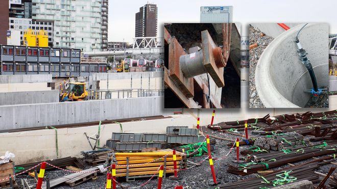 Byggropa var i ferd med å kollapse. Her er instrumentene som avverget det som kunne blitt en katastrofe