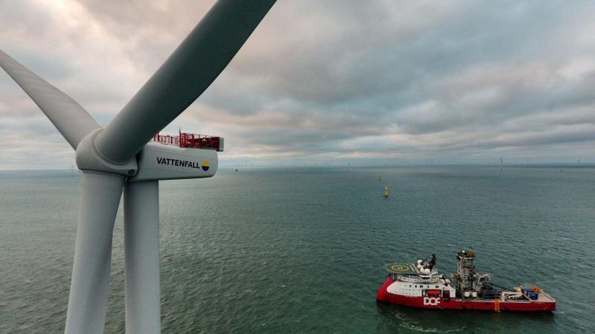 Vindparken Horns Rev 3 ble koplet på strømnettet i år, og er en medvirkende årsak til at Danmark nå setter ny rekord i strømproduksjon fra vindturbiner.