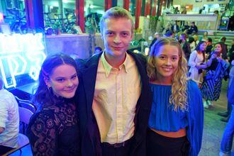Lena Reinhardtsen (Sofia), Tord Kinge (Viktor), Anne Storeng Frøseth (Ada) spiller hovedrollene i NRKs nye serie Nudes.