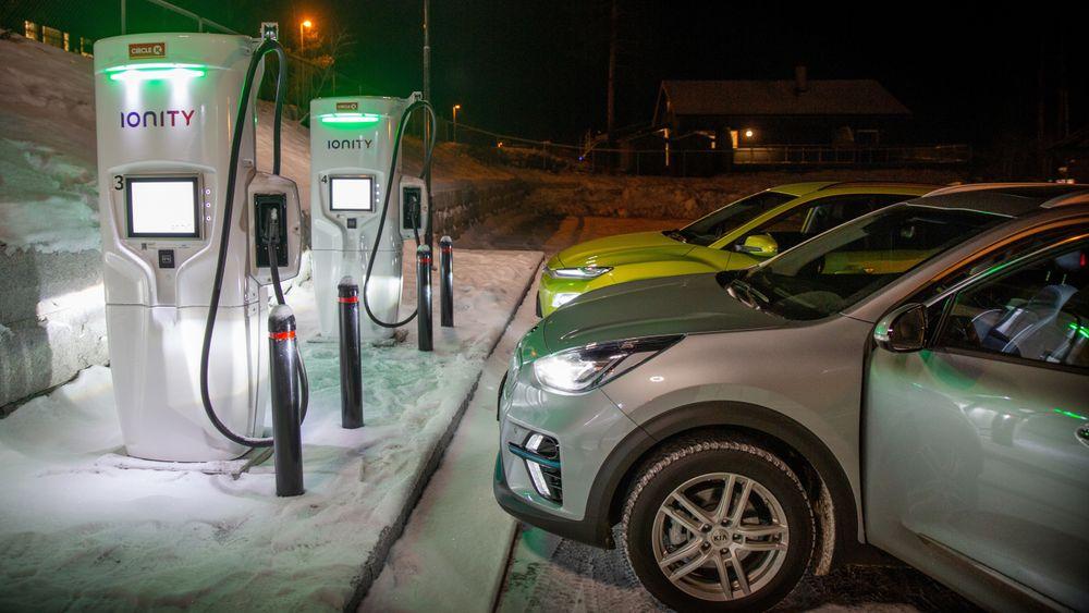Ionity vil doble antall lynladere i Norge i løpet av høsten. Disse kan levere inntil 350 kW.