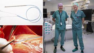 For 18 år siden fikk hjertekirurgErik Fosse en idé. Nå skal mobiltelefon-teknologien testes på 30 mennesker