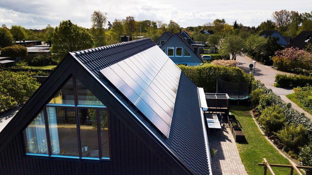Slik ser solcelleløsningen Solstråle ut, som Ikea lanserte i Sverige på tirsdag.