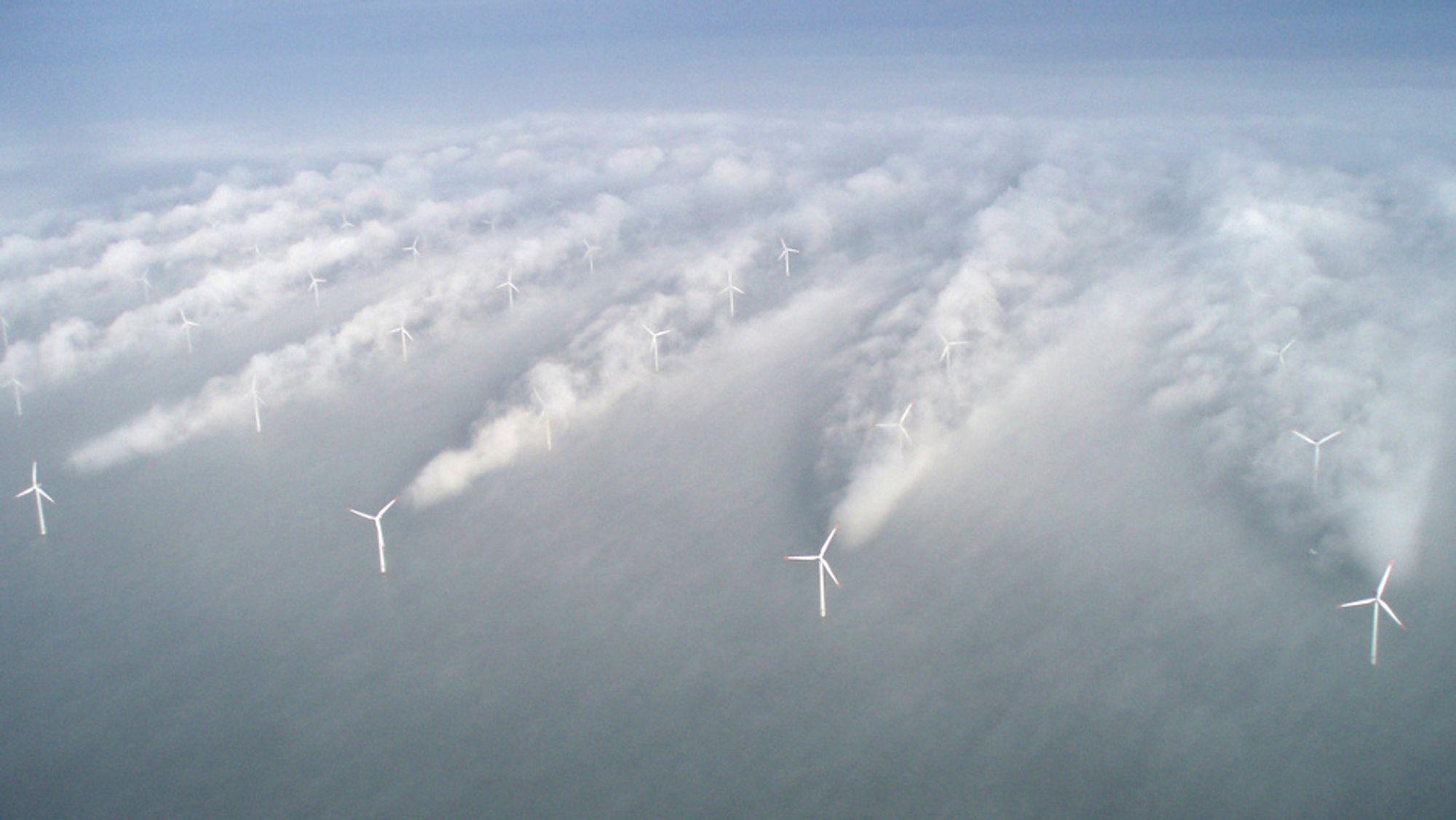 Equinor har fått tillatelse til å bygge verdens største havvindpark. Her fra et anlegg i Sverige.
