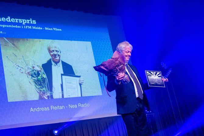 Årets hederspris ble gitt tilAndreas Reitan fra Nea Radio.