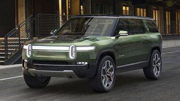 Elbilprodusenten Rivian regner med å være på markedet neste år med sine første biler. Her SUVen R1S.