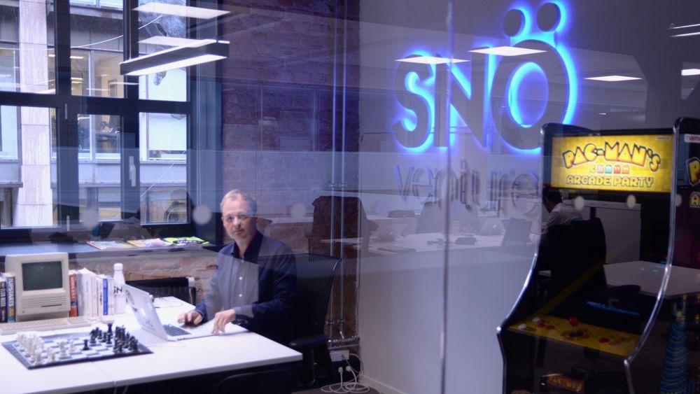 Magne Uppman i venturefondet Snö.
