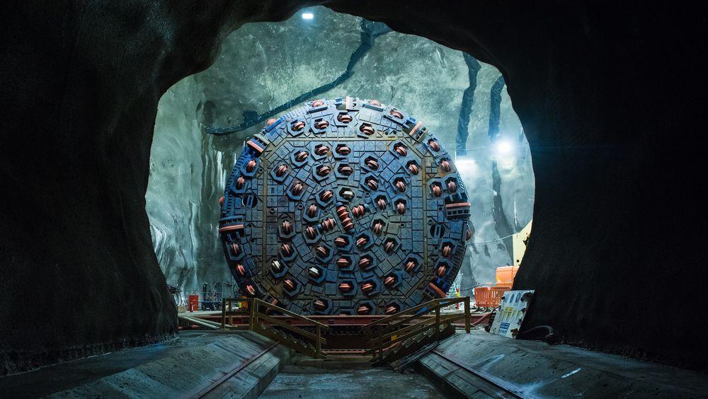 Hver enkelt tunnelboremaskin må spesiallages til tunnelen de skal drive.