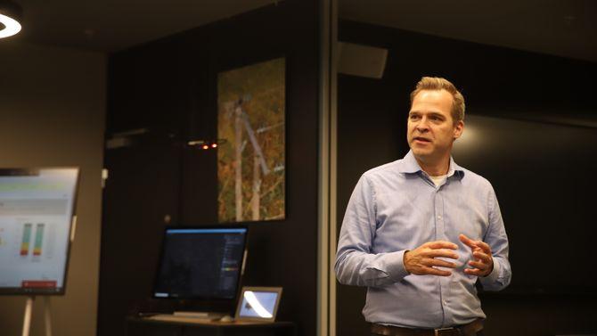 Senterdirektør Kristian Heim, Microsoft Norge.