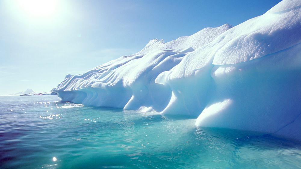 Issmelting i Antarktis kan få store konsekvenser.