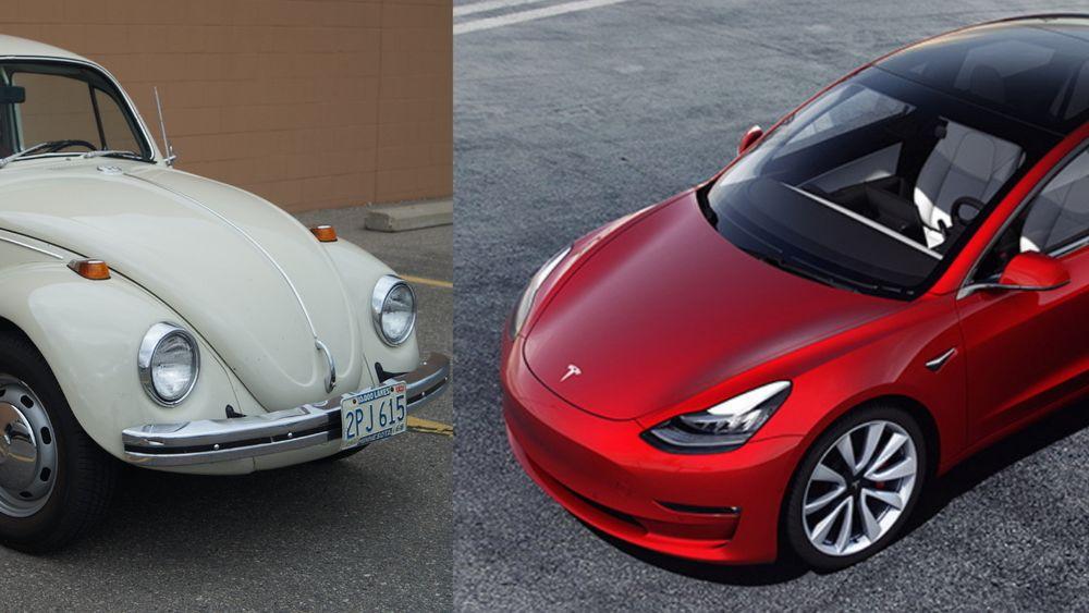 Model 3 kan passere folkevognas 50 år gamle rekord.