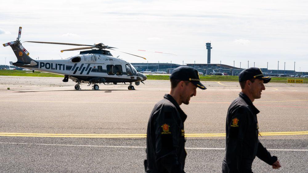 To slike AW169-helikoptre blir snart til tre, her på basen til Politiets helikoptertjeneste på Gardermoen.