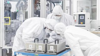VW vil ha hånd om batteriproduksjonen selv. Nå starter bilgiganten sitt eget batteriteknologisenter i Salzgitter.