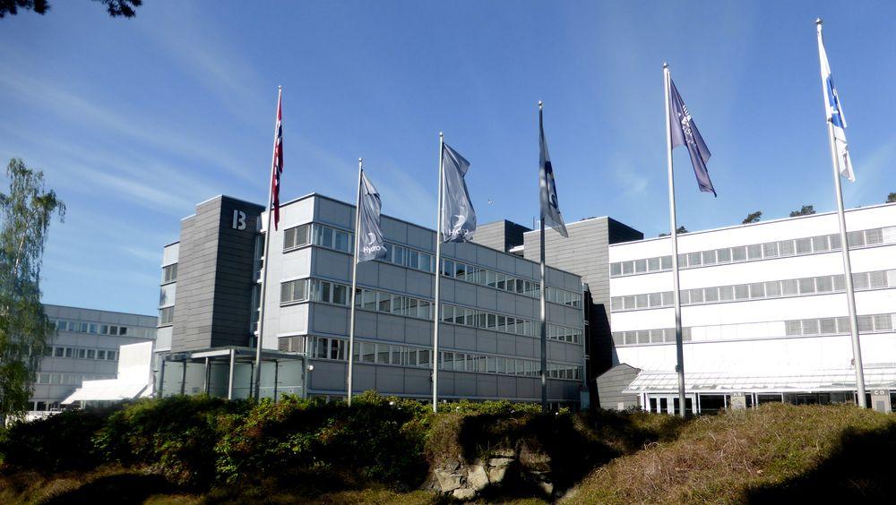 Norsk Hydros hovedkvarter i Oslo.