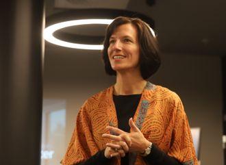 Administrerende direktør Kimberly Lein-Mathisen i Microsoft Norge.