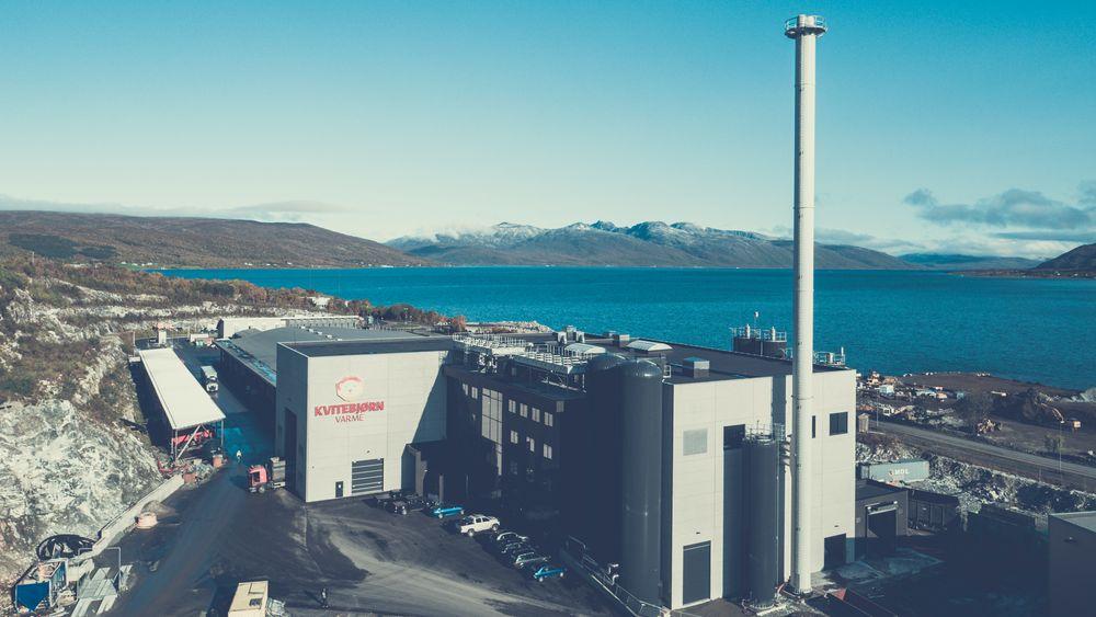 Søppelforbrenningsanlegget til Kvitebjørn varme vil snart kunne forsyne hele Tromsøya med fjernvarme.