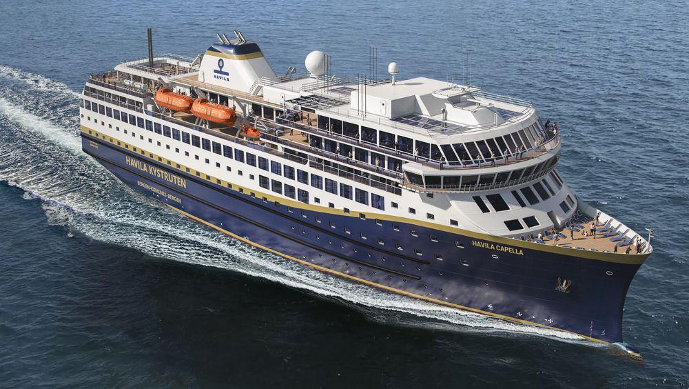 Havikla Kystruten har fire nye skip under bygging. De skal gå på LNG, ha store batteripakker og gjenvinne varme og energi.