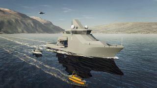 Kongsberg redd for framtiden til maritim klynge – ber om fortgang i skipsprosjekter