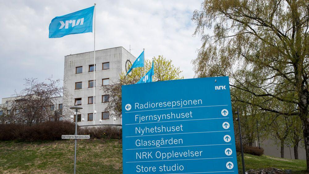 NRK-bygget på Marienlyst.