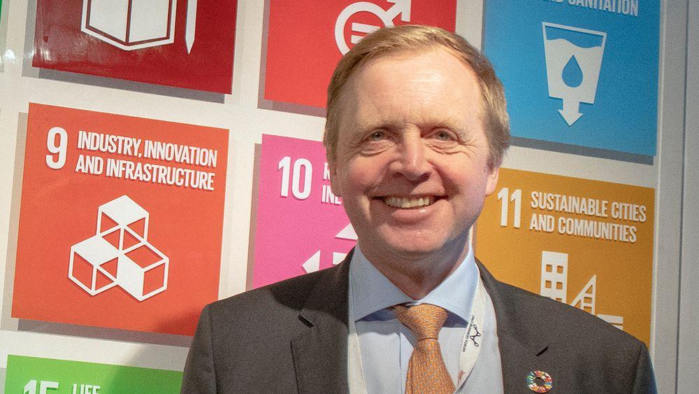 Bjørn K. Haugland, administrerende direktør i Skift - Næringslivets klimaledere.