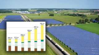 Slik skal Tyskland greie energiomstillingen. Solenergi skal erstatte kullkraft allerede i 2035