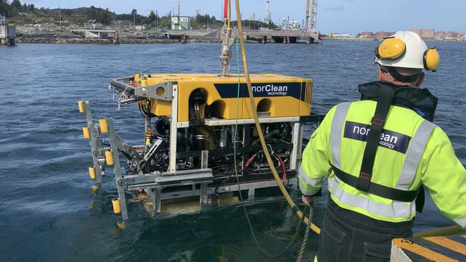 Nyutviklet boremetode festet verdens dypeste sjøkabel i sitt slag
