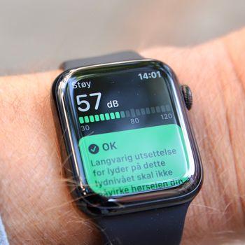 Støymåleren er ny i Watch OS 6.
