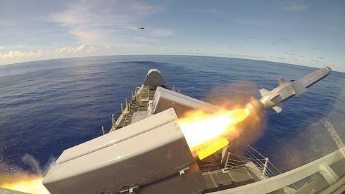 Kun ett skip har missilet i dag – i løpet av 18 måneder skal amerikanerne ha NSM på 30 skip til