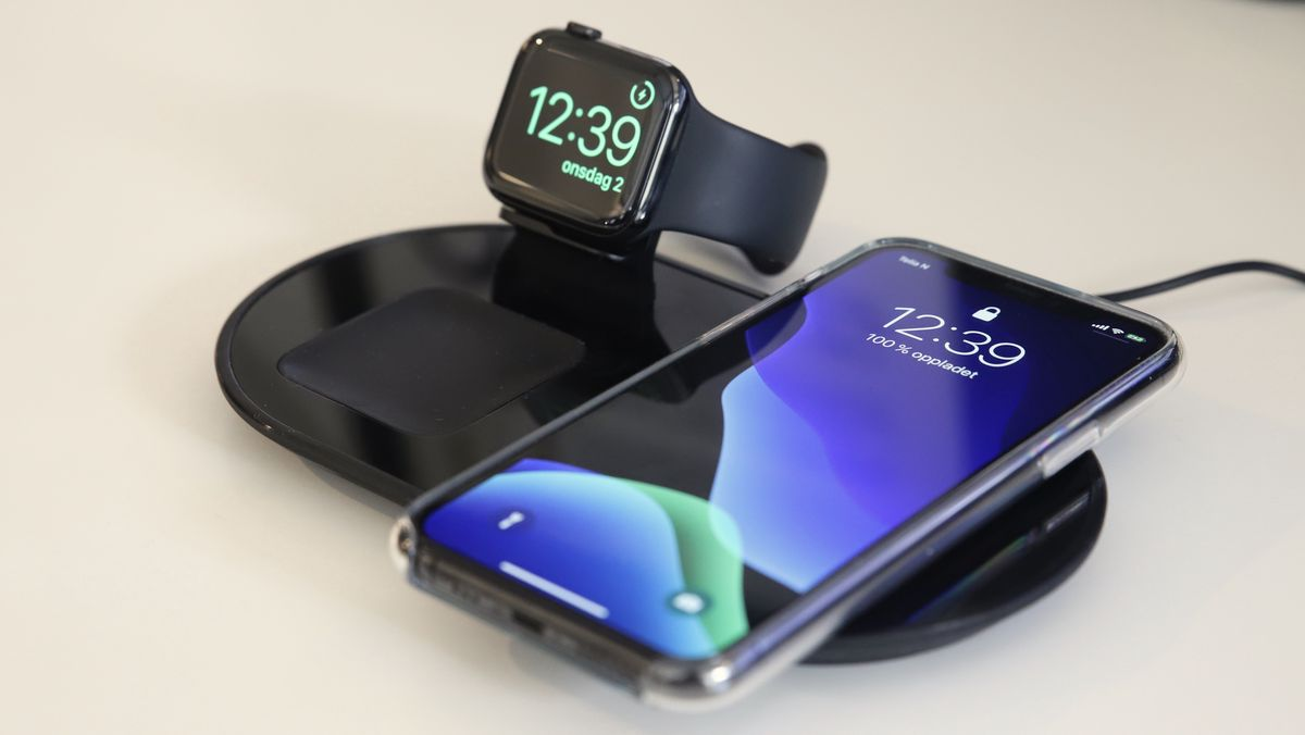 TEST: Mophie 3 in 1 wireless charging pad Digi.no