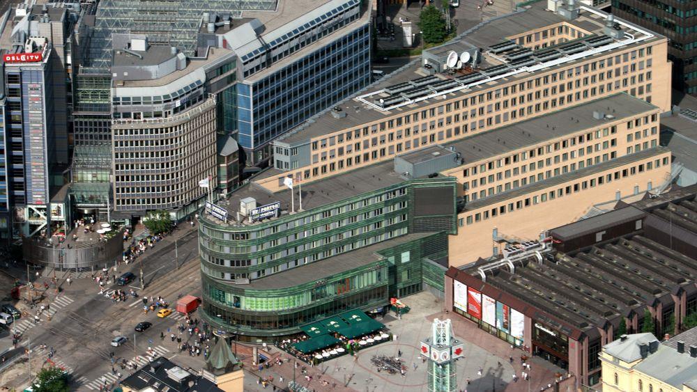 Statsbygg leier blant annet kontorlokaler i Byporten ved Oslo S.