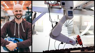 Jernbinding er essensielt i store byggeprosjekter, men fører ofte til kroniske ryggsmerter: Denne roboten kan være løsningen