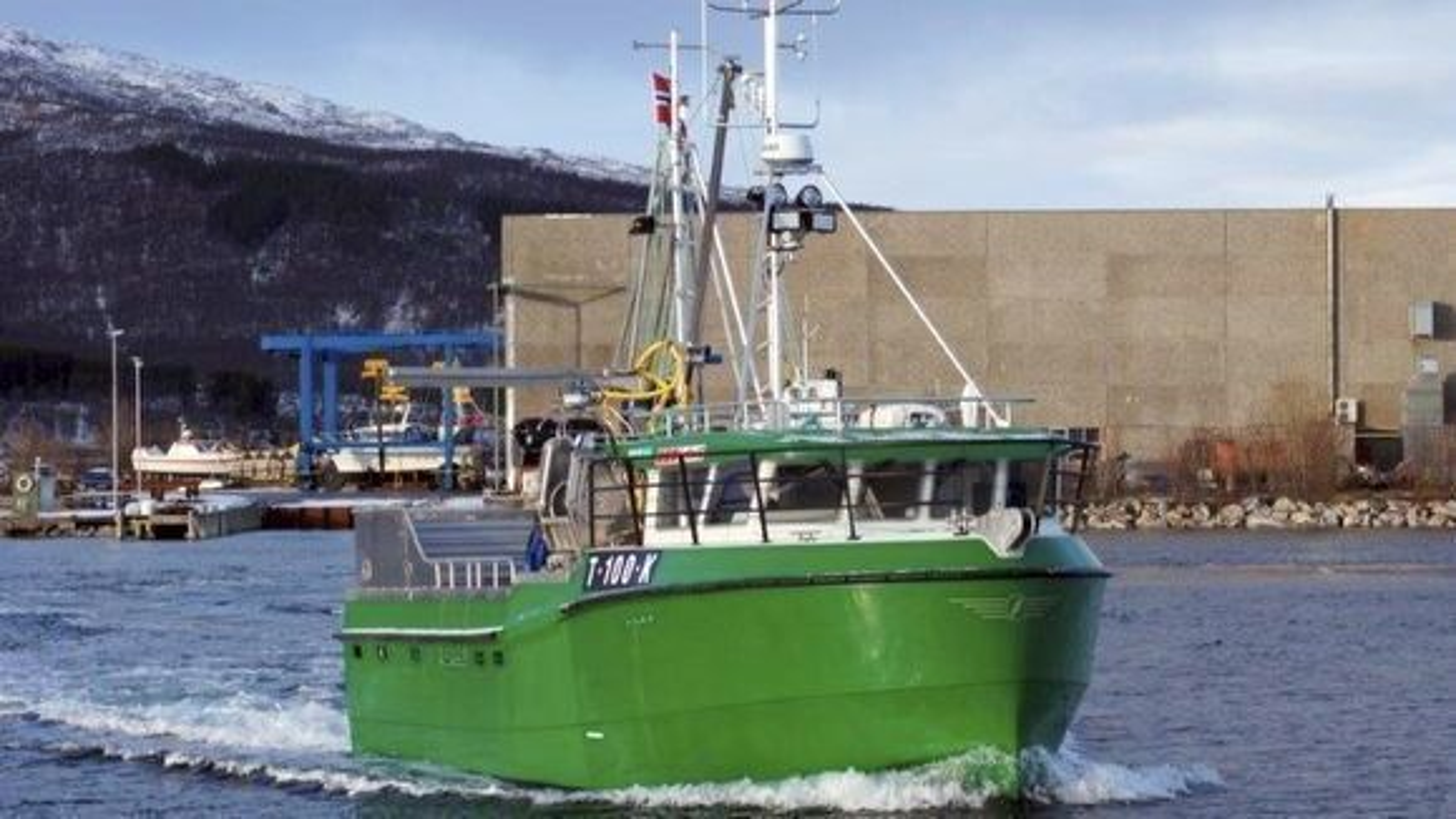 Hybridfiskebåten Karoline er et av klimatiltakene i fiskeflåten.
