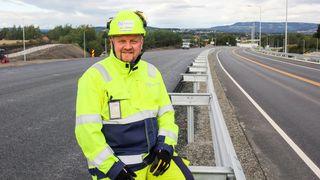 Bygger 44 kilometer E6 på 41 måneder: I dag åpnet den første strekningen