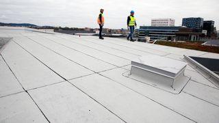 Guide oversikt nox co2 byggematerialer miljøvennlige klimagasser betong noxite pilkington asek