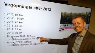 Rekordåret 2019: Aldri har det blitt åpnet så mange kilometer riksvei i Norge