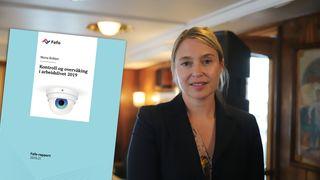 Signhild Blekastad, juridisk fagdirektør i Datatilsynet, syns det er bekymringsfullt at partene i arbeidslivet ikke har mer kunnskap om kontroll og overvåking i dag enn det de hadde i 2010. Bildet er tatt i Fafo-båten på Arendalsuka i år.