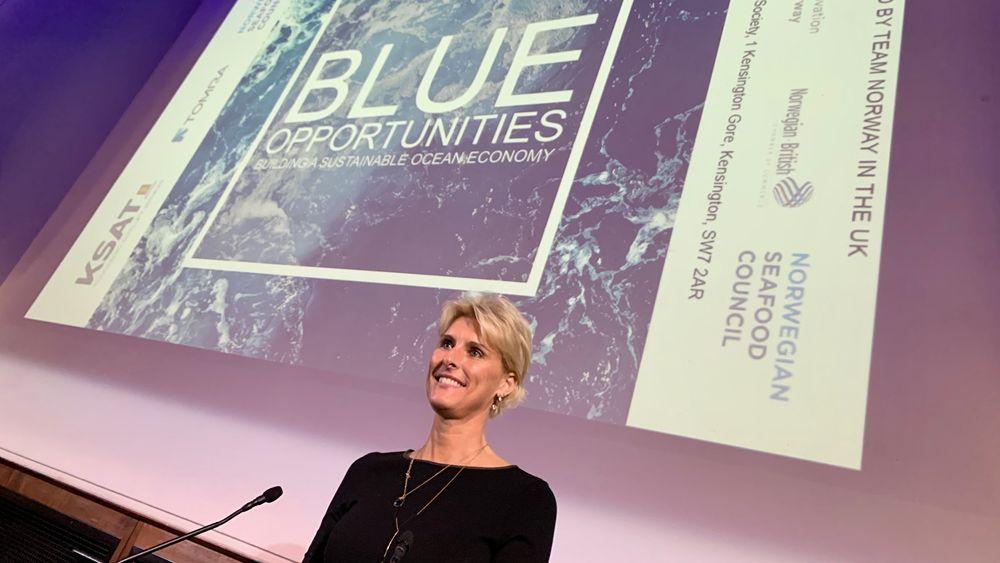 Helene Friis fra Innovasjon Norge har fått 100 internasjonale bedrifter til å registrere seg på The Explorer. De skal matches med satsingens 250 norske bedrifter som tilbyr grønnere, bedre og smartere løsninger. Fra Norge. – Nå er vi klare for matchmaking, bedyrer Friis.