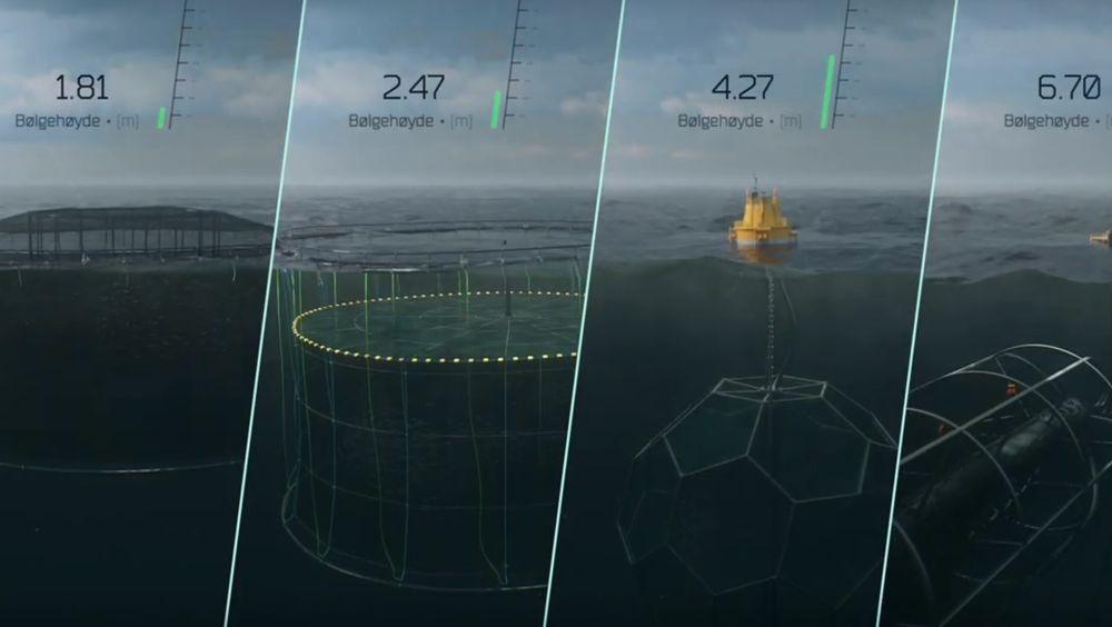 Blue Revolution Centre har som hensikt å teste flere typer merder for å finne ut hvor fisken vokser og trives best.