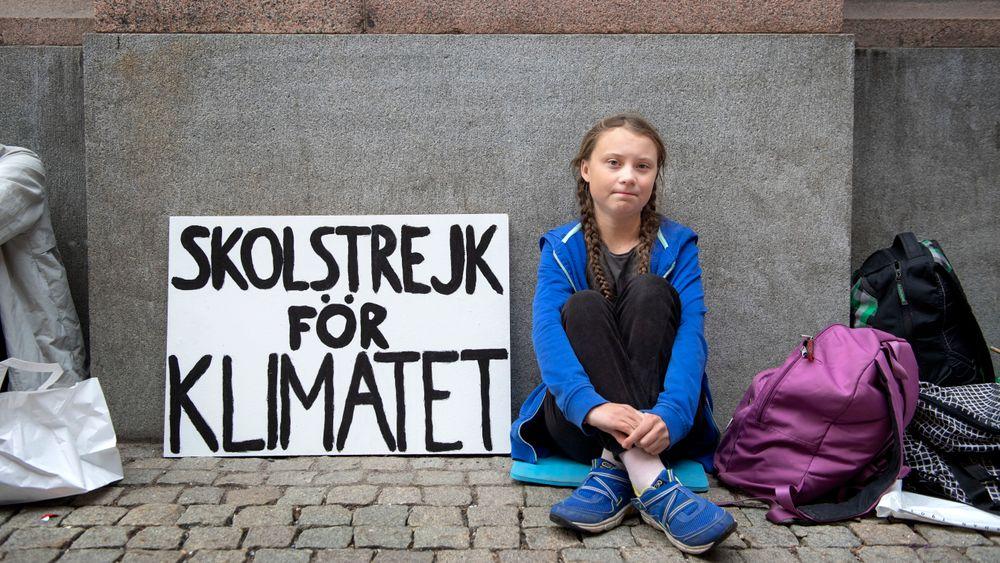 Greta Thunberg startet med skolestreiken utenfor Riksdagen i Stockholm for et drøyt år siden. Nå er hun en ledestjerne for miljøbevegelsen verden over.