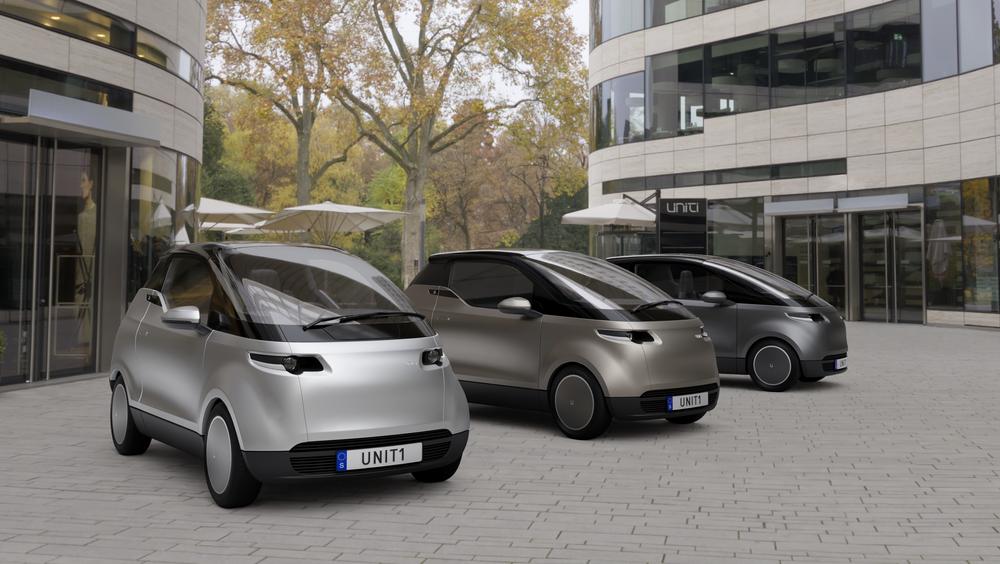 Den urbane elbilen Unity One skal kunne leveres fra sommeren 2020.
