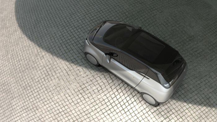 Uniti One veier bare 600 kilo, og har ifølge produsenten et forbruk på kun 8 kW/100 km.