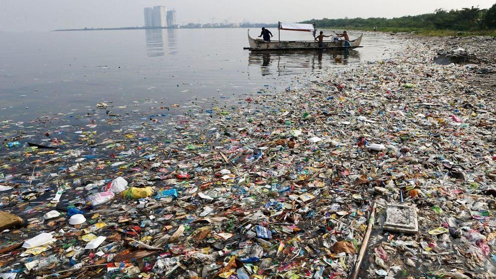 Nok å ta av på Filippinene: David Katz vil stoppe plasten før den forsvinner i verdenshavene,
