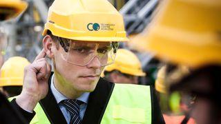 Skal lære å bli oljearbeider: Borten Moe blir plattformsjef på Draugen
