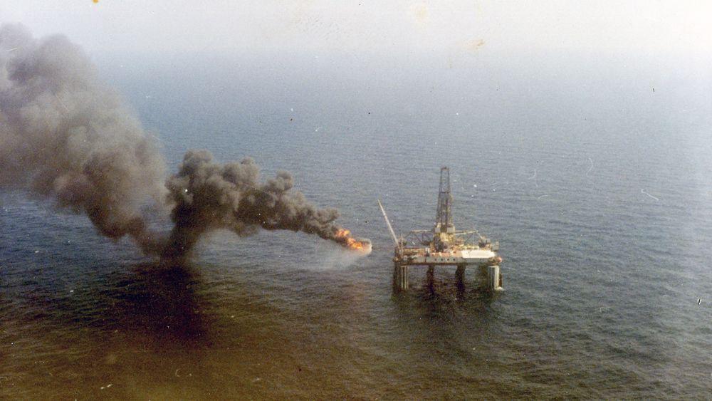 Riggen Ocean Viking boret brønnen som 24. oktober traff på Ekofisk-reservoaret. Dagen etter ble funnet kjent internt i selskapet, med ble først meldt til myndigheten lille julaften det året.