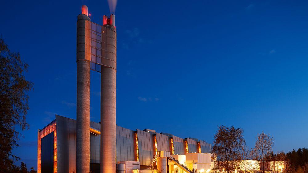 Fortum Oslo Varme planlegger CO2-fangst på energigjenvinningsanlegget på Klemetsrud i Oslo. Prosjektet kan bli utsatt i påvente av mulig støtte fra EU.
