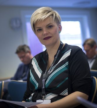 Styreleder Silje S. Skiphamn i SKUP.
