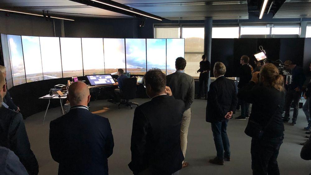 Lørdag ble det fjernstyrte tårnsenteret i Bodø satt i drift. Første flyplass som styres herfra, er Røst.