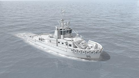 Utvikler autonom slepebåt for en av verdens travleste havner